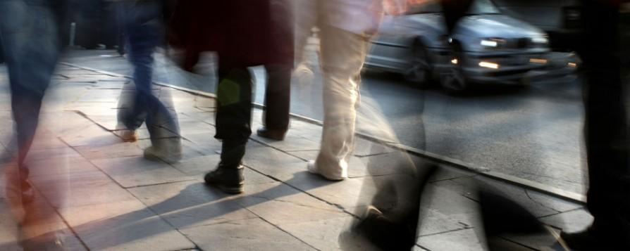 Gente paseando por la calle